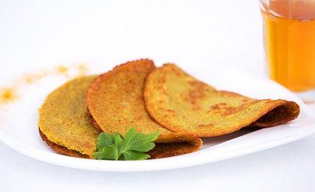 Ayurvedische Gewürz-Pfannkuchen – Glutenfrei und vegan
