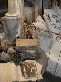Iron Beds~Old Books...