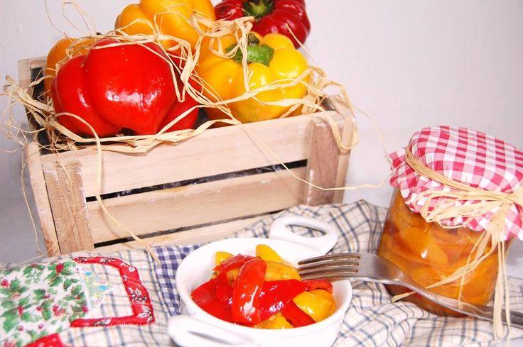 Peperoni in Agrodolce… Buoni per tante occasioni…