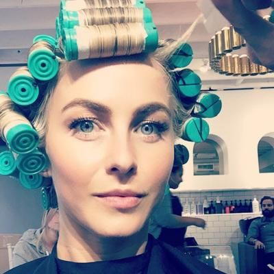 Buzzing: Julianne Hough Gets a Perm—See Her Beachy New Hairdo