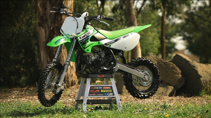 Cam's project Kawasaki KX 65 from the crew at www.kawasaki.com.au