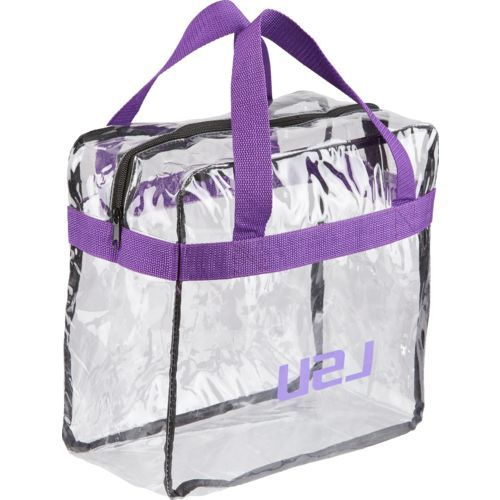 Forever Collectibles™ Louisiana State University Clear Messenger Bag (Clear, Size ) - NCAA Licensed Product, NCAA Accessories at Academy Sports