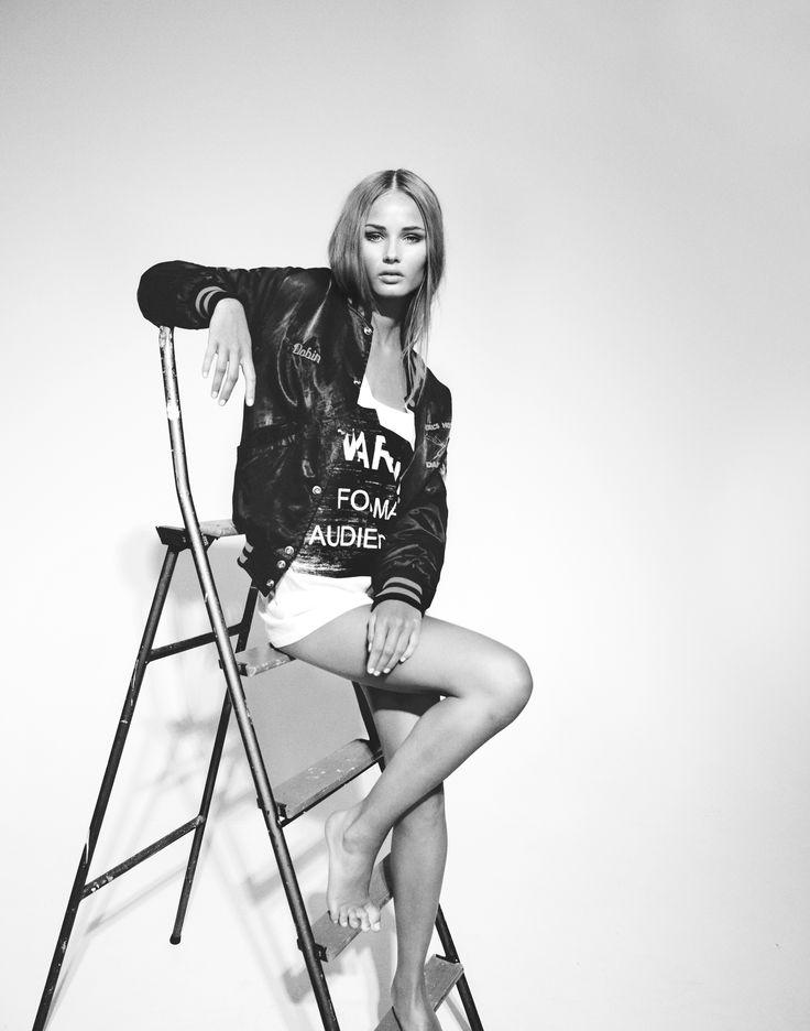 Make&Hår Janina Granroth. Fotograf Peter Edqvist. Modell Linnea, Elite