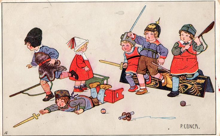 Austrian postcard. 1915