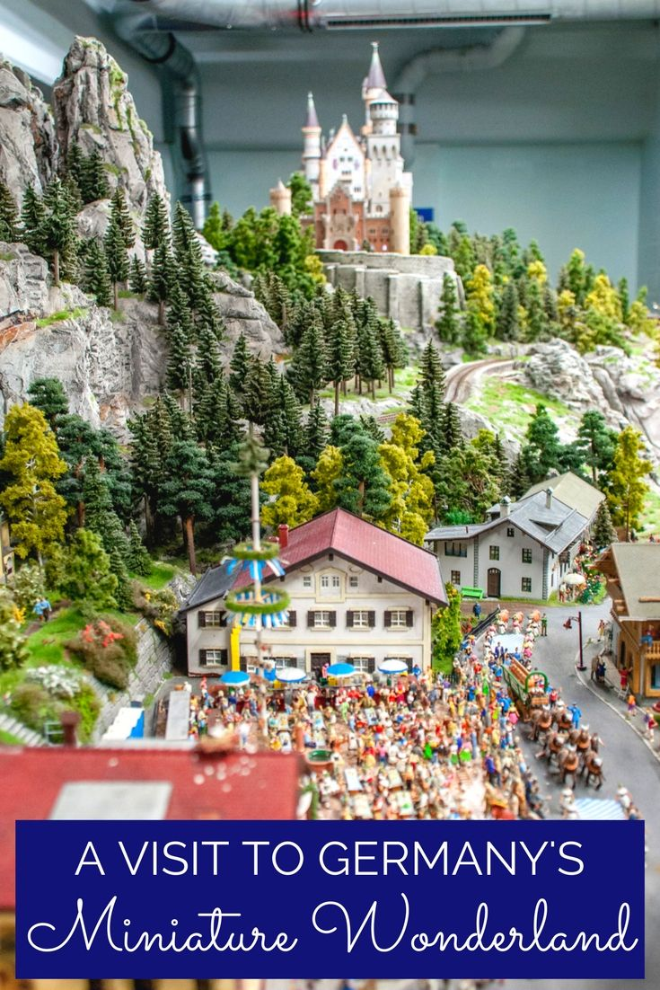 Germany's most popular tourist attraction, Miniature Wonderland in Hamburg re-creates the world in tiny scale | Miniatur Wunderland