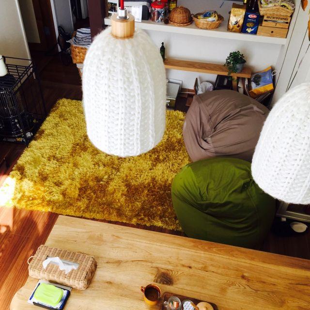 体にフィットするソファ/無印良品/上から。/部屋全体のインテリア実例 - 2015-02-11 23:55:33 | RoomClip(ルームクリップ)