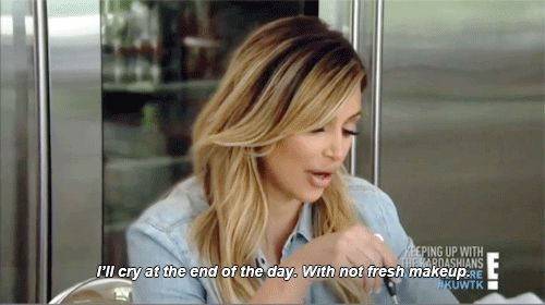 Pin for Later: 15 Kardashian GIFs That Perfectly Express My Emotions About the Kylie Lip Kit Once you realize your attempts are futile, you feel despondent. Will there even be more in the future? How can I go on?