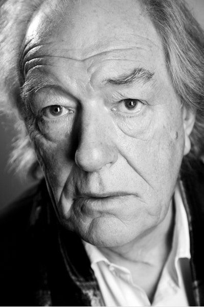 Sir Michael John Gambon CBE (b 19 October 1940) Irish-born English Theatre, TV &  Film. Highly respected theatre actor, Gambon also recognised for roles as Philip Marlow in BBC tv serial The Singing Detective, as Jules Maigret in 1990s ITV serial Maigret, & as Professor Albus Dumbledore in final six Harry Potter films.http://www.google.co.uk/imgres?q=michael+gambon+black+and+white=1=en=safari=en=