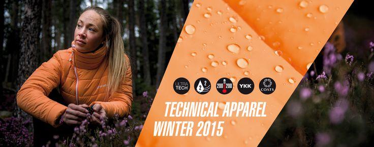TECHNICAL APPAREL WINTER 2015