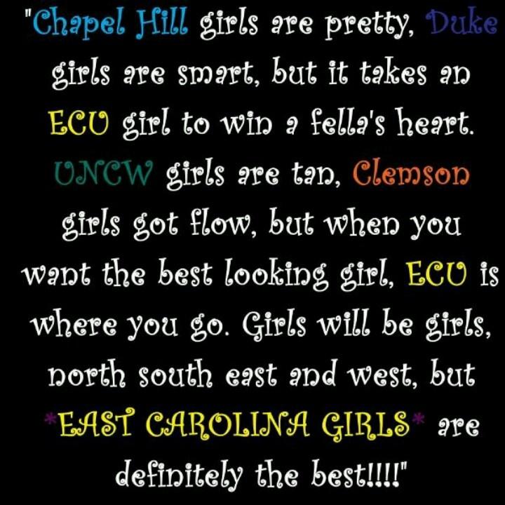 ECU Girls!! haha...super cute!