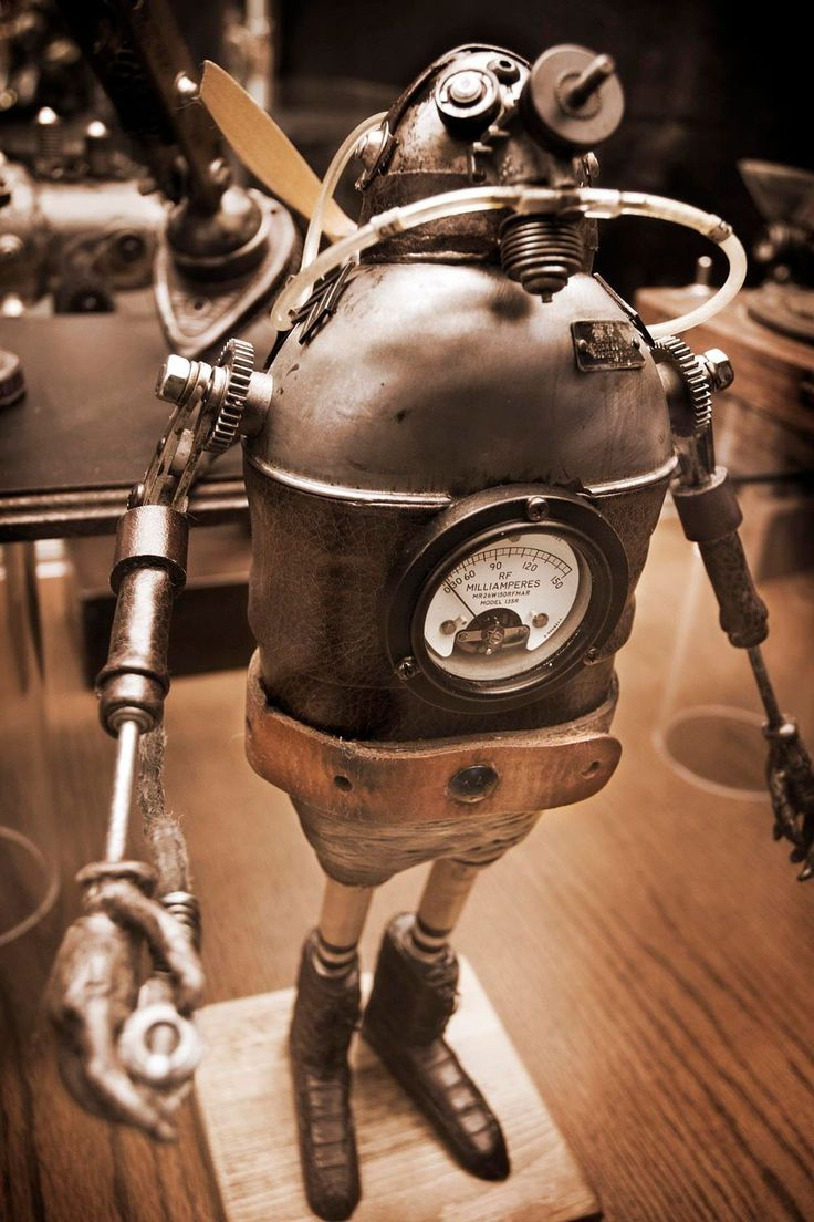 Steampunk Robot 03 by Peter Csanadi on 500px