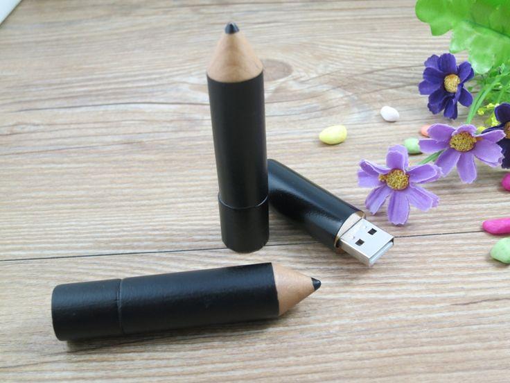 USB personalizado en forma de lápiz.