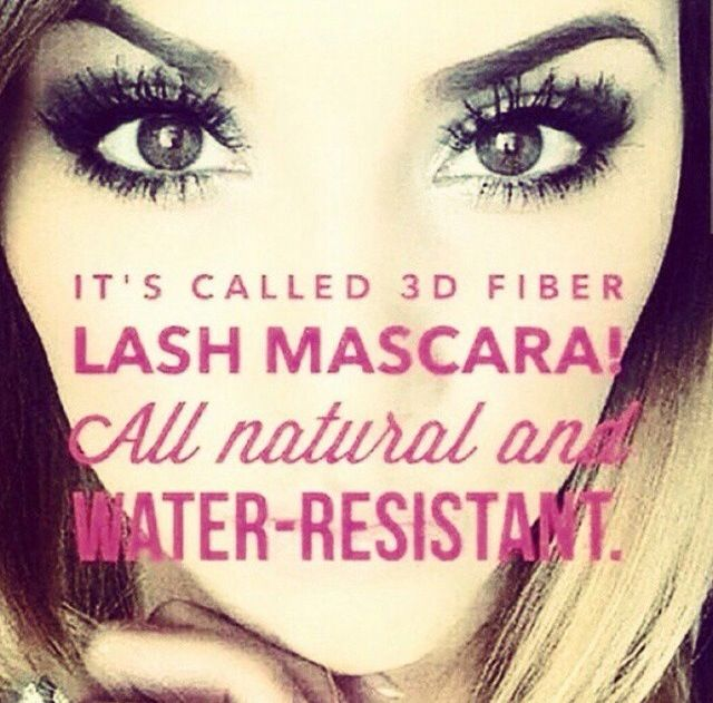 Younique 3D Fiber Plus Mascara is made from 100% Green Tea Collagen and Fibers- so it helps with regrowth! The fibers are different lengths for a more natural look! It's buildable, so you can put on as many coats to achieve the look you want. NOT permanent or damaging, no glue, no mess, inexpensive!  #youniquemascara