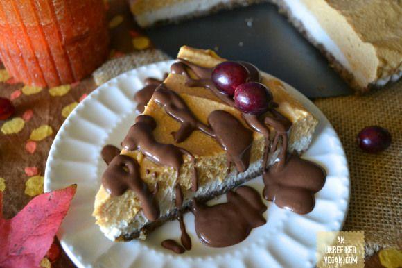 Sweet Potato Maple Mousse Pie + Eat Well. Party Hard. • an unrefined vegan