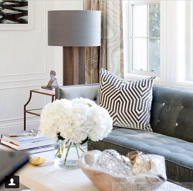 100 best gray white home decor images on pinterest for Neutral gray living room