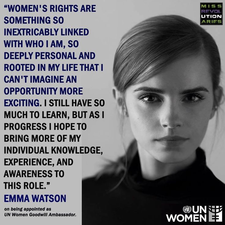 Emma Watson on being appointed as UN Women Goodwill Ambassador