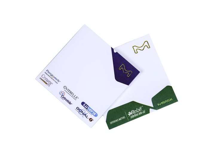 Custom printed post it notes from Promovate