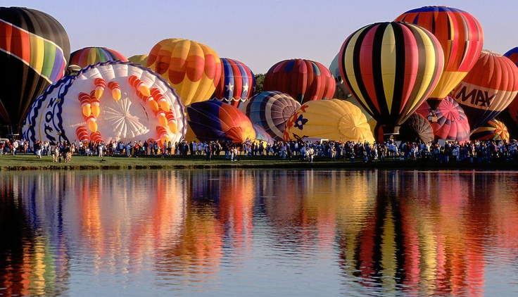 """Plano Balloon festival """"sometimes you need to step back to explain the picture"""""""
