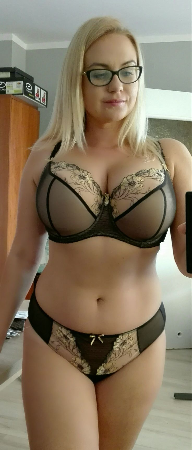 Apologise, Plus size amateur lingerie wife