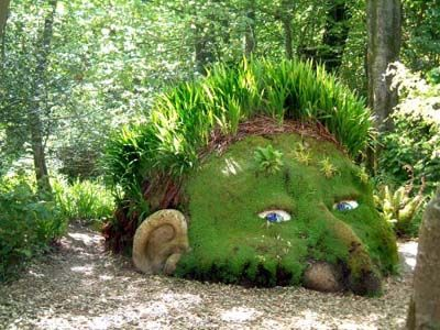 Lost Gardens of Heligan in Mevagissey, Cornwall. For those summer days when you just want to get lost in a garden.