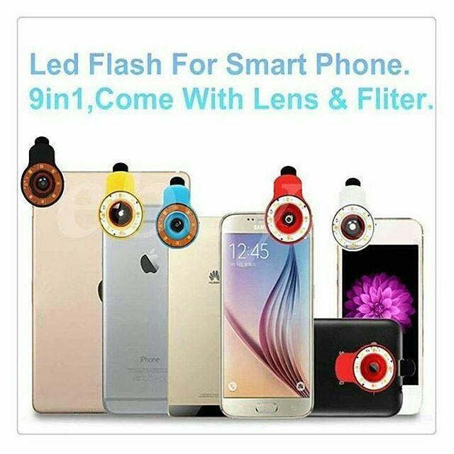 LENSA SUPERWIDE LED  Buat kamu yang gemar selfie ataupun groufie saat ini telah hadir lensa portable terbaru yang mengusung dua kelebihan sekaligus yakni lensa super wide serta dilengkapi dengan LED Flash yang dapat memberikan tambahan cahaya.  Super Wide Lens LED Flash ini memiliki 3 pilihan kualitas cahaya yang dapat disetting melalui 3 jenis piringan yang disediakan. Segera miliki Super Wide Lens LED Flash ini sebagai pelengkap anda untuk berfoto sendiri ataupun beramai-ramai . Harga…