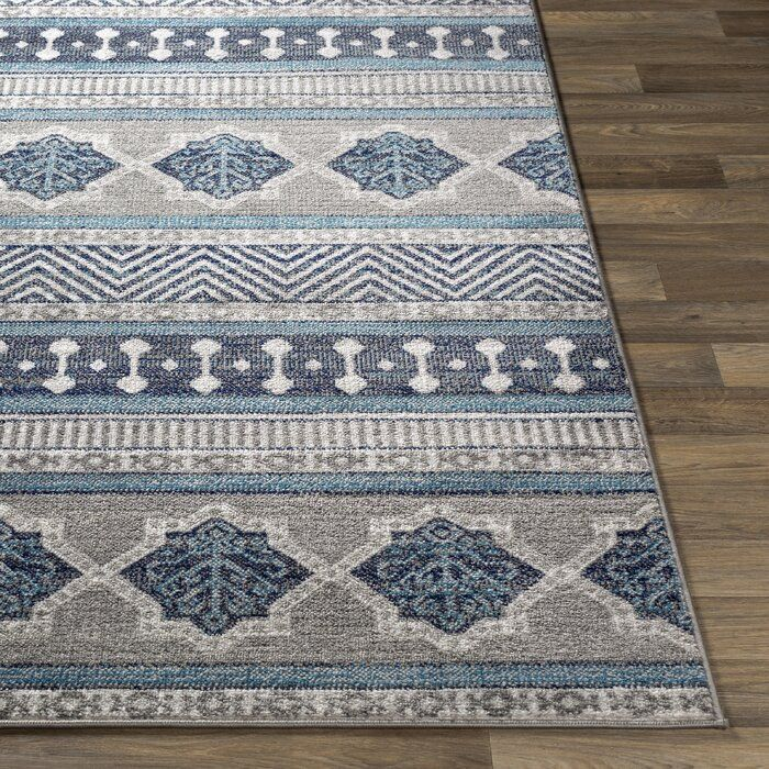 Bungalow Rose Ranck Transitional Taupe Light Blue Area Rug Wayfair Great Din Rm Rugs Area Rugs Cabin Rugs Taupe and blue area rug