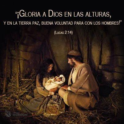 """Cuenta regresiva para Navidad: Hoy.    """"Podemos experimentar el poderoso mensaje del nacimiento del Hijo de Dios y sentir la esperanza y la paz que Él brinda al mundo."""" — Dieter F. Uchtdorf"""