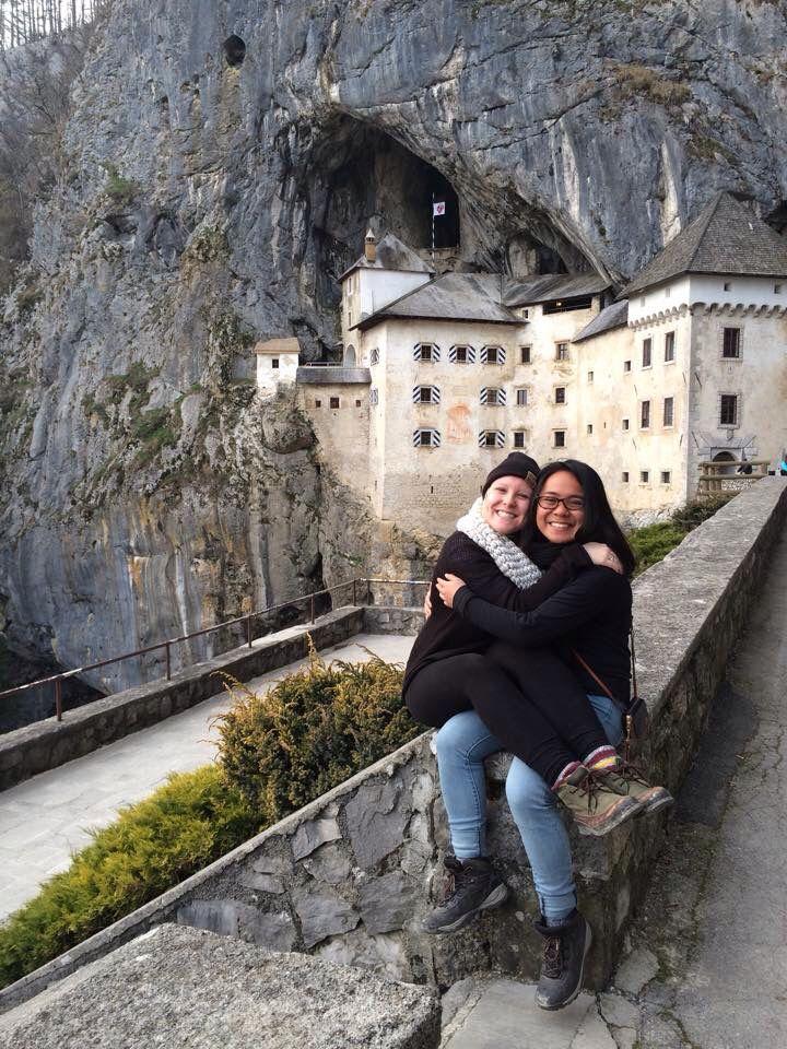 Predjama Castle, Slovenia with @ellesommerville - March 2015