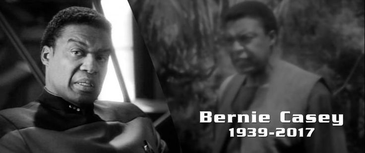Remembering DS9 Guest Star Bernie Casey 1939-2017   StarTrek.com is saddened to report the passing of veteran actor and Deep Space Nine guest star Bernie Casey. He died on Tuesday at the age of 78 following a brief sudden illness according to The Hollywood Reporter.  Casey started out as a NFL wide receiver and made the transition to acting full time after retiring early from a Pro Bowl football career. His many many film and television credits included Brian's Song Boxcar Bertha Cleopatra…