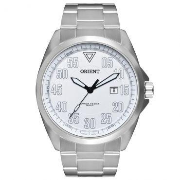 Ricardo Eletro Relógio Masculino Orient Analógico, Pulseira de Aço, Resistência a água 100 Metros - R$139,41