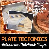 Plate Tectonics Interactive Notebook Pages Teach middle school students in the science classroom studying plate techtonics, theory, boundaries. Grade 4th 5th 6th 7th 8th 9th
