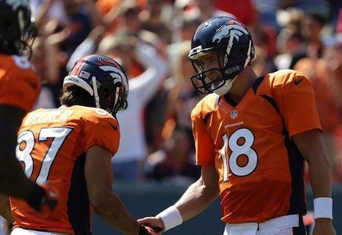 NFL: Peyton Manning Gets Eric Decker With Prank