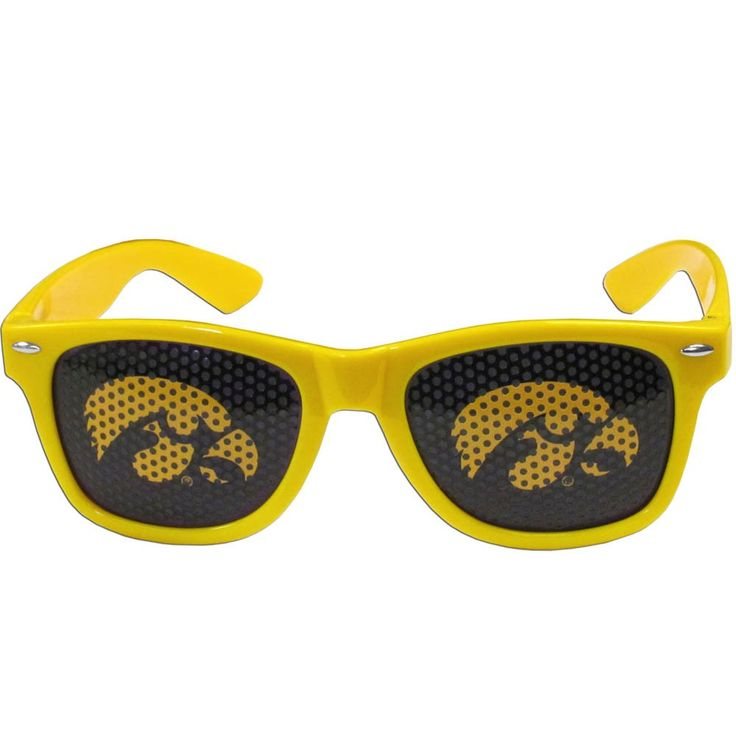 "Checkout our #LicensedGear products FREE SHIPPING + 10% OFF Coupon Code ""Official"" Iowa Hawkeyes Game Day Shades - Officially licensed College product Maximum UVA/UVB protection Flex hinges for comfort and durability Perforated lenses allow you to see Iowa Hawkeyes logo - Price: $17.00. Buy now at https://officiallylicensedgear.com/iowa-hawkeyes-game-day-shades-cwgd52"