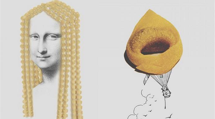 Le fantasie sul cibo nel profilo Instagram di Diego Cusano