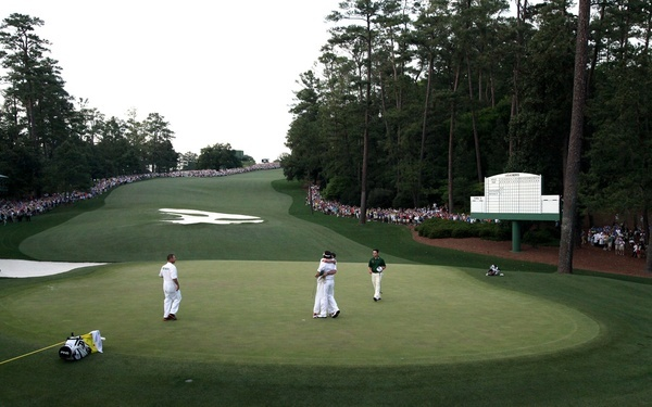 raw emotion = why I love sports (Bubba Watson wins the 2012 Masters.)