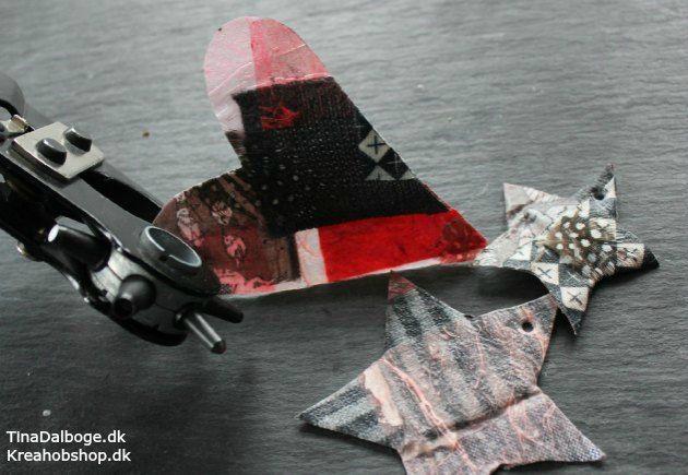 julepynt-lav selv med-paverpol-stof-fjer-og-papir hobbyprodukter fra kreahobshop