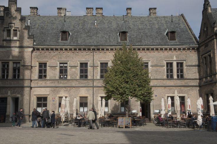 cafe in the castle of prague^october 2012