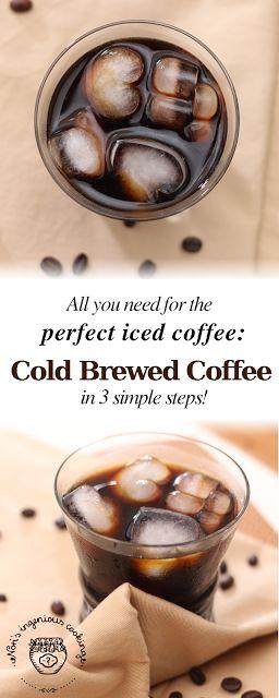 Nóri's ingenious cooking: Cold brewed iced coffee #dairyfree #sugarfree #vegan #recipe