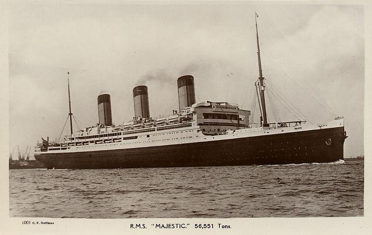 1000+ images about 1914 - 1937 Ocean Liner Bismarck / Majestic HAPAG on Pinterest | Architecture ...