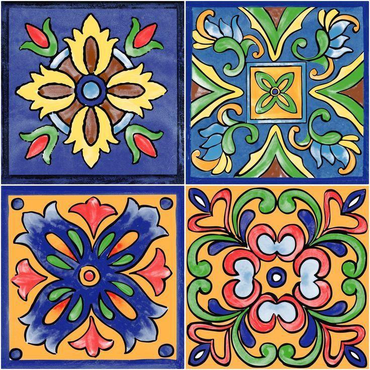 Pattern That Hd Vintage Pattern That Can Be Used For Spot Color Printing Mosaico De Azulejos Azulejos De Mosaico Arte De Baldosa