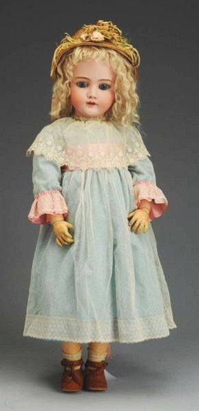 Classic German Bisque K  H Child Doll. : Lot 6
