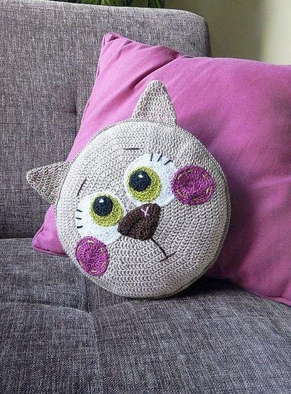 nice Ideias Almofadas – Crochê&Tricô