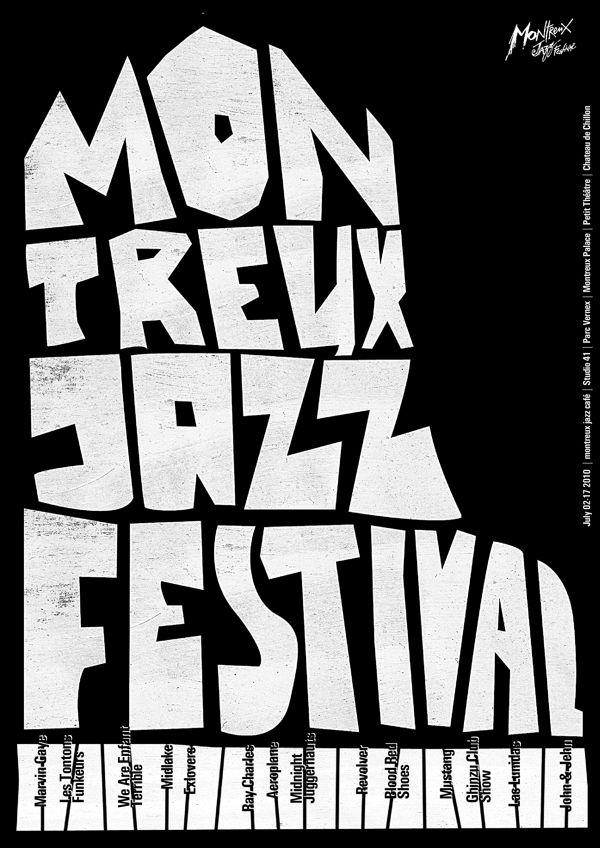 Svyat Vishnyakov, Montreux Jazz Festival poster, 2010
