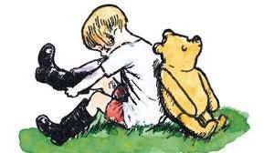 """""""Friendship,"""" said Christopher Robin, """"is a very comforting thing to have."""" #aamilne #winniethepooh #friendship #EllenRothAuthor"""