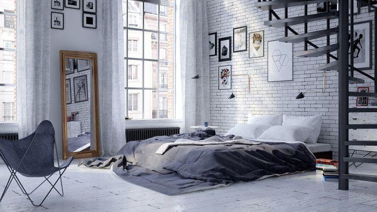 Loft w dawnej łódzkiej fabryce | Loft in an old factory - Marta Czeczko - architektura wnętrz | interior design