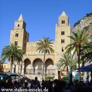 Dom von Cefalu - Provinz von Palermo auf Sizilien - Siciliy - Sicily http://www.italien-inseln.de/palermo/cefalu.html