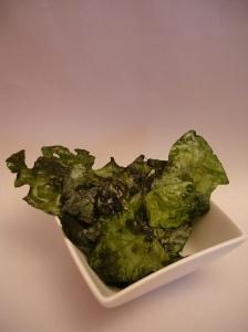 Recept om te bakken met kinderen: In de oven gebakken spinazie-chips
