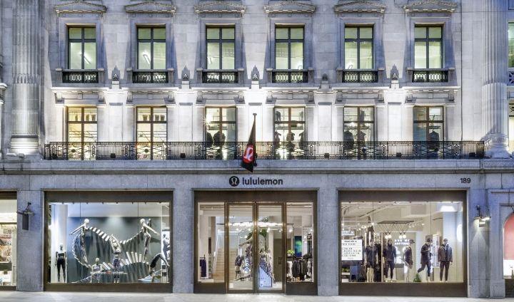 Lululemon store by Dalziel-Pow, London - UK