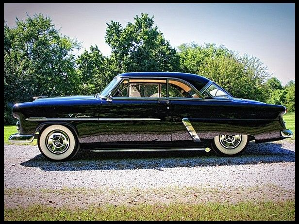 1952 Ford Victoria Hardtop..my first car but it was white...my hubby would love this car...he loves Fords and we both were born in 1952..he loves old cars.....