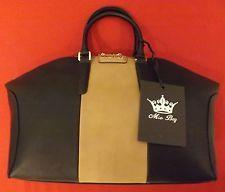 BORSA DONNA MIA BAG 15316 NERO ECOPELLE SHOPPING BICOLORE 039 TAUPE H27 L37 P16C | eBay